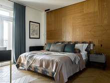 Квартира «Квартира на Цветном бульваре», спальня . Фото № 31117, автор Гердт Катя