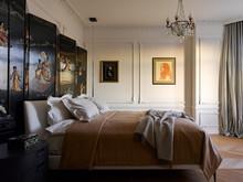 Квартира «Квартира на Цветном бульваре», спальня . Фото № 31115, автор Гердт Катя