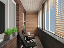 Квартира «20 оттенков серого», веранда лоджия . Фото № 31125, автор ТАНДЕМ+ Студия Интерьера