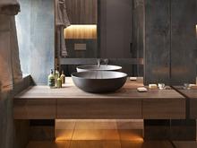 Квартира «UI047», ванная . Фото № 31138, автор U-Style