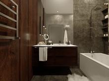 Квартира «Ванная комната Ближе к природе», ванная . Фото № 31139, автор Худякова Кристина