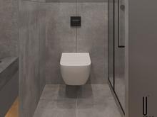 Квартира «UI050», ванная . Фото № 31146, автор U-Style