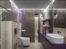 Квартира «Квартира-шкатулка», ванная . Фото № 31150, автор Полякова Наталья