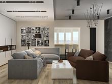 Квартира для семьи ученых, фото № 8468, ТАНДЕМ+ Студия Интерьера