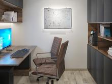 Квартира «Квартира для семьи ученых», кабинет . Фото № 31192, автор ТАНДЕМ+ Студия Интерьера