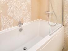 Квартира «Двухкомнатная квартира с анфиладой на ул. Маклина», ванная . Фото № 31205, автор Нелюбина Наталья