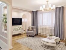 Двухкомнатная квартира с анфиладой на ул. Маклина, фото № 8469, Нелюбина Наталья