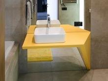 Квартира «Строгость и немного озорства», ванная . Фото № 31244, автор Канищев Виктор