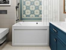 Квартира «Дизайн интерьера трехкомнатной квартиры», ванная . Фото № 31348, автор Болдырев Артем