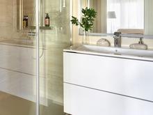 Квартира «Реализация двухкомнатной квартиры в М. Гнездниовском переулке», ванная . Фото № 31362, автор Бриммер Татьяна