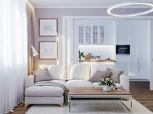 Дизайн интерьера трехкомнатной квартиры ЖК Западное Кунцево, фото № 8507, Болдырев Артем