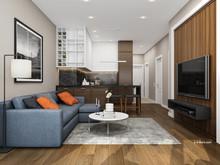 Дизайн интерьера двухкомнатной квартиры Дизайн интерьера ЖК Маяк, фото № 8509, Болдырев Артем
