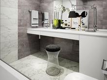 Квартира «Дизайн интерьера двухкомнатной квартиры ЖК Wellton Park», ванная . Фото № 31422, автор Болдырев Артем
