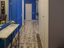 Квартира «Дизайн интерьера трехкомнатной квартиры Реализация квартиры ЖК Life ботанический сад», холл . Фото № 31433, автор Болдырев Артем