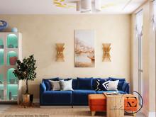 Подводный мир в московской квартире в стиле Soleray, фото № 8529, Ив Эжени