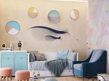 Квартира «Подводный мир в московской квартире в стиле Soleray», детская . Фото № 31451, автор Ив Эжени