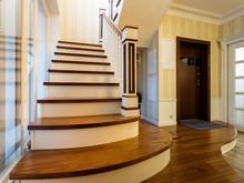 Квартира «Двухуровневая квартира в ЖК Правый берег», холл . Фото № 31466, автор Акбатырова Светлана