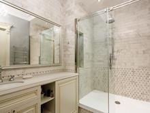 Квартира «Двухуровневая квартира в ЖК Правый берег», ванная . Фото № 31467, автор Акбатырова Светлана