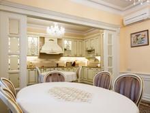 Квартира «Двухуровневая квартира в ЖК Правый берег», столовая . Фото № 31460, автор Акбатырова Светлана