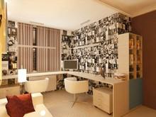 Квартира «практичный интерьер для семьи с подрастающим ребенком», детская . Фото № 31474, автор Екатерина Анисимова Татьяна Каширина