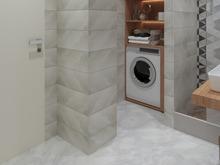 Квартира «ЖД Сэттэ 2х комнатная квартира», ванная . Фото № 31478, автор Кашуба Сэпэлма