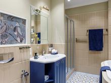 Квартира «Квартира в ЖК Дом на Трубецкой», ванная . Фото № 31483, автор Зорина Елена