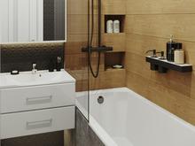 Квартира «Двухуровневая квартира», ванная . Фото № 31506, автор Efimovykh Elena