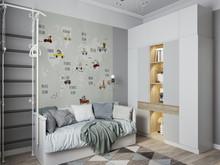 Квартира «Двухуровневая квартира», детская . Фото № 31502, автор Efimovykh Elena