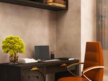 Квартира «Квартира в стиле Soleray в Ялте.», кабинет . Фото № 31512, автор Ивлиева Евгения