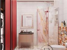 Квартира «Квартира в стиле Soleray в Ялте.», санузел . Фото № 31515, автор Ивлиева Евгения