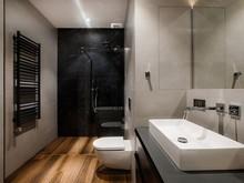 Квартира «Дипломат», ванная . Фото № 31534, автор Mediana Interiors дизайн-бюро