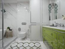 Квартира «Классический Крылов», ванная . Фото № 31538, автор Mediana Interiors дизайн-бюро