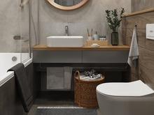 Квартира «Дизайн квартиры в ЖК «Счастье на Пресне»», ванная . Фото № 31546, автор GM-Interior GM-interior