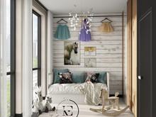 Квартира «Квартира в неорусском стиле.», детская . Фото № 31550, автор Ивлиева Евгения