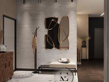Квартира «Квартира в неорусском стиле.», прихожая . Фото № 31552, автор Ивлиева Евгения