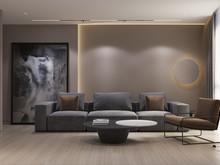 Квартира «UI055», гостиная . Фото № 31574, автор U-Style