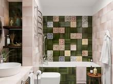 Квартира «ЛИСЬЯ НОРА», ванная . Фото № 31598, автор Алёны Чекалиной Дизайн студия