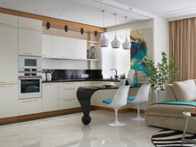 Квартира «Квартира для бабушки», кухня . Фото № 31626, автор Игнатова Оксана