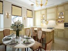 Квартира «Арбат», кухня . Фото № 31631, автор Харитонов Николай