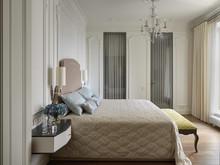 Квартира «ЭЛЕГАНТНЫЙ ИНТЕРЬЕР», спальня . Фото № 31646, автор Самойлова Наталья