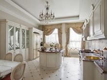 Квартира «АНТИКВАРНАЯ ШКАТУЛКА», кухня . Фото № 31661, автор Самойлова Наталья