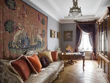 Квартира «АНТИКВАРНАЯ ШКАТУЛКА», кабинет . Фото № 31664, автор Самойлова Наталья