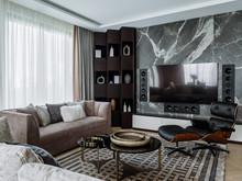 Квартира «Квартира в Жк Серебряный Бор», гостиная . Фото № 31694, автор Азорская Инна