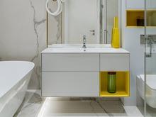Квартира «Квартира в Жк Серебряный Бор», ванная . Фото № 31699, автор Азорская Инна