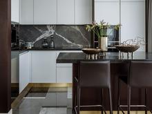 Квартира «Квартира в Жк Серебряный Бор», кухня . Фото № 31693, автор Азорская Инна