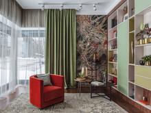 Квартира «Частные апартаменты в ЖК Рублево», гостиная . Фото № 31731, автор Родионовская Мария