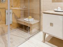 Квартира «Частные апартаменты в ЖК Рублево», ванная . Фото № 31734, автор Родионовская Мария