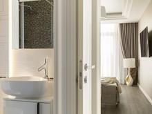 Квартира «ЖК Дом у Невского», ванная . Фото № 31765, автор Чернина Ольга