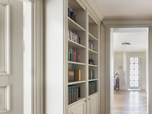 Квартира «Частная квартира в ЖК Воробьёвы горы 180кв.м.», библиотека . Фото № 31785, автор Родионовская Мария