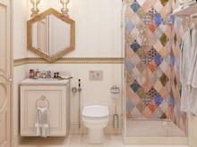 Квартира «ЖК Донской Олимп», ванная . Фото № 31799, автор Klene Tatyana